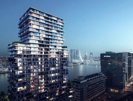 Terraced Tower te Rotterdam